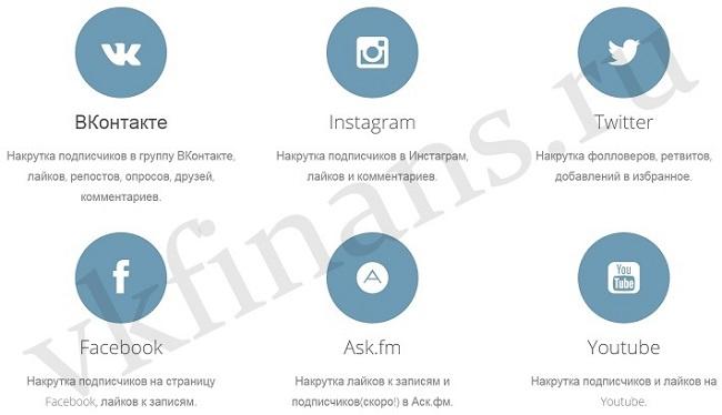 накрутка лайков вконтакте твиттер инстаграм